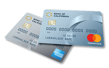 Mastercard and American Express Cards